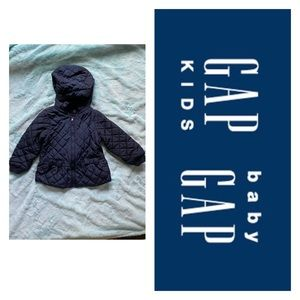 Girls GAP Quilted Jacket